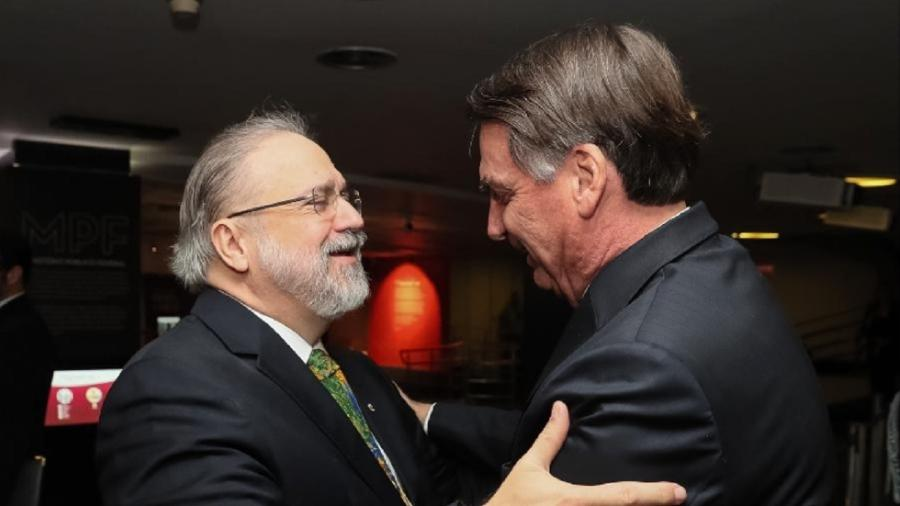 Aras argumentou que não há evidências de crimes cometidos pelo presidente - Isac Nóbrega/PR