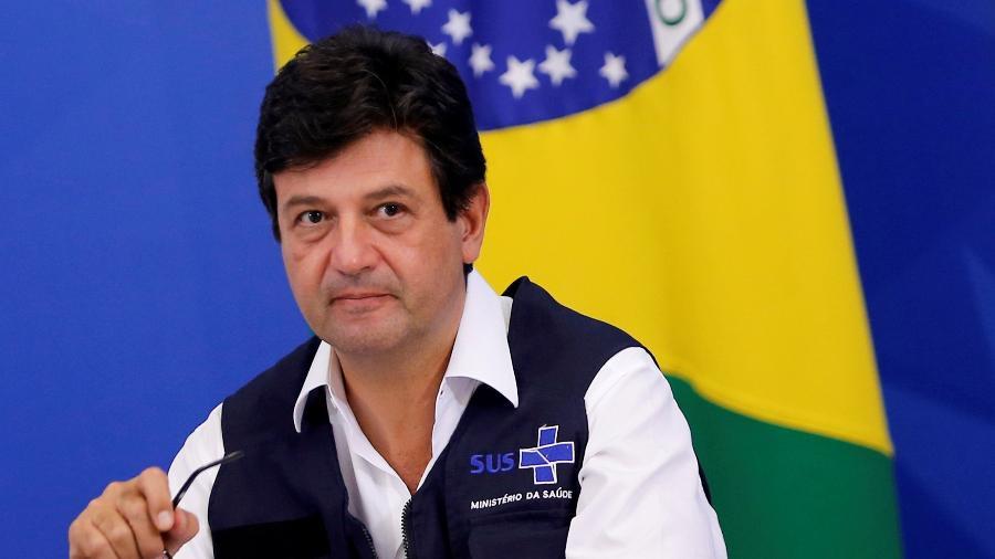 Ministro da Saúde, Luiz Henrique Mandetta, em Brasília - ADRIANO MACHADO