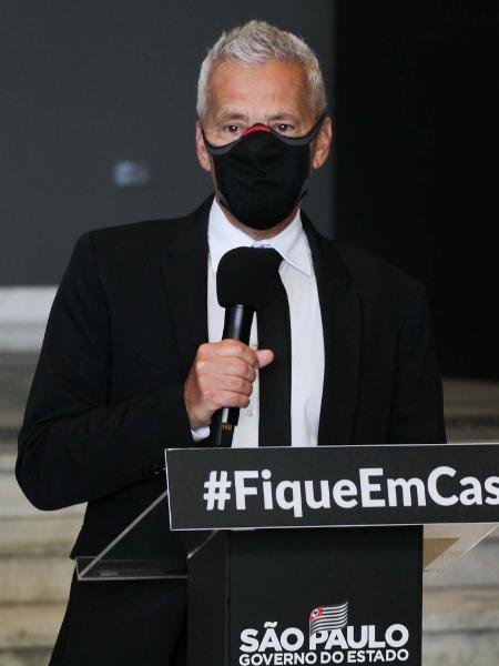 João Gabbardo dos Reis, coordenador do Centro de Contingência do combate ao coronavírus em São Paulo - ROGÉRIO GALASSE/FUTURA PRESS/ESTADÃO CONTEÚDO