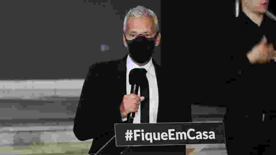 João Gabbardo dos Reis, secretário-executivo do Centro de Contingência do combate ao coronavírus em São Paulo - 27.mai.2020 - Rogério Galasse/Futura Press/Estadão Conteúdo