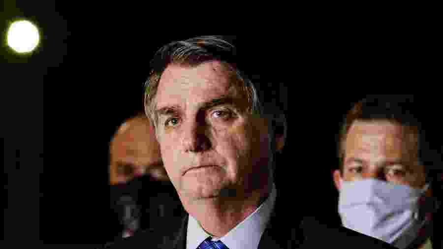 """Bolsonaro falou que, juntos, eles podem fazer """"muito mais pela nossa pátria"""" - Wallace Martins / Estadão Conteúdo"""