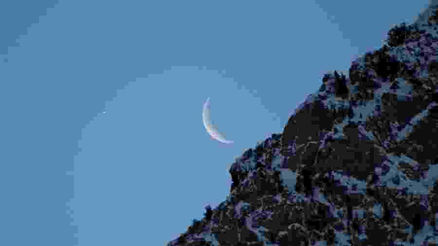 Vênus é popularmente chamada de Estrela d?Alva, quando atinge seu brilho máximo logo antes de o sol nascer. É conhecida como Estrela da Tarde (ou Vésper) quando o brilho máximo acontece ao anoitecer. - Bill Dunford/Nasa