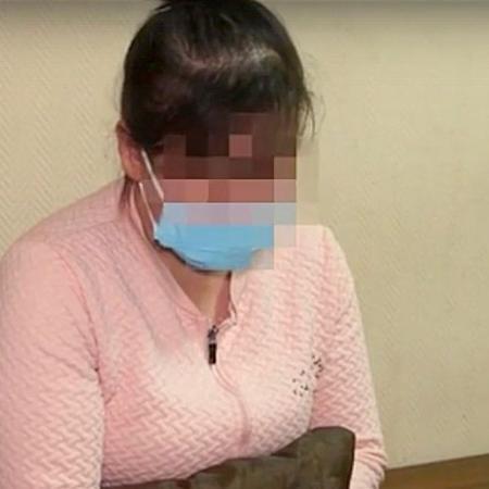 Chechena, acusada por suspostamente vender filho recém-nascido por R$ 1,8 mil - Divulgação