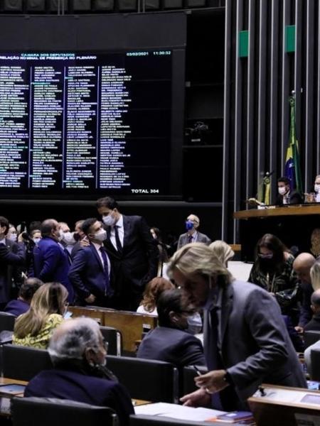 Sessão para a eleição da Mesa Diretora na Câmara dos Deputados, em Brasília - Luis Macedo/Câmara dos Deputados