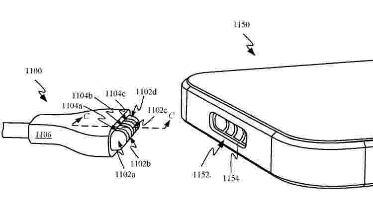 Adeus, Lightning: iPhone 13 pode ter MagSafe para carregamento da bateria - Reprodução/PatentlyApple - Reprodução/PatentlyApple