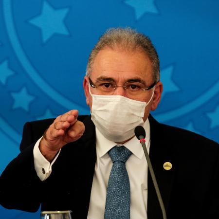 Arquivo - Queiroga afirmou que o governo tem mantido tratativas frequentes com a OMS em relação ao Covax - WALLACE MARTINS/FUTURA PRESS/ESTADÃO CONTEÚDO