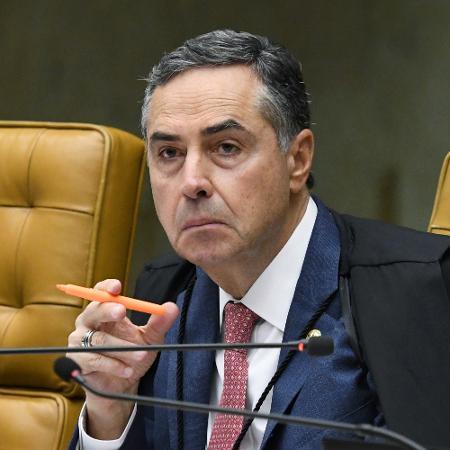 4.mar.2020 - O ministro Luís Roberto Barroso, presidente do TSE - Carlos Moura/SCO/STF
