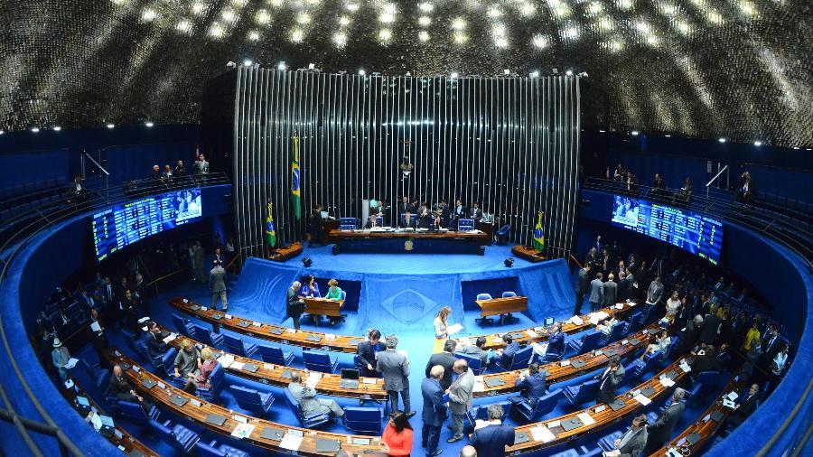 Plenário do Senado durante sessão deliberativa ordinária - Ana Volpe/Agência Senado
