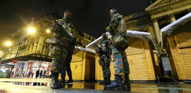 Na Bélgica, alerta máximo significa ameaça iminente de ação terrorista; entenda escala usada no país - Yves Herman/Reuters