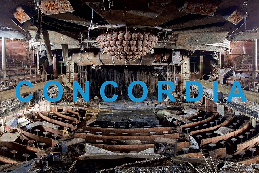 Interior do Costa Concordia
