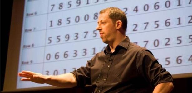Mark Channon, especialista em técnicas de memorização - Divulgação