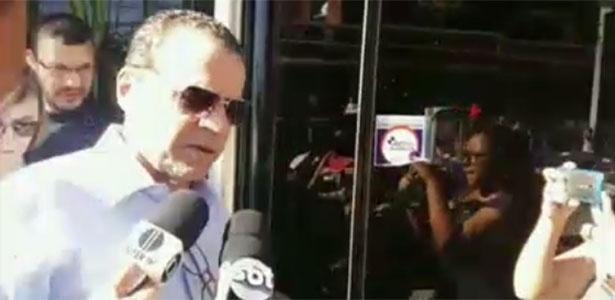 O ex-ministro Henrique Eduardo Alves no dia de sua prisão, em 6 de junho