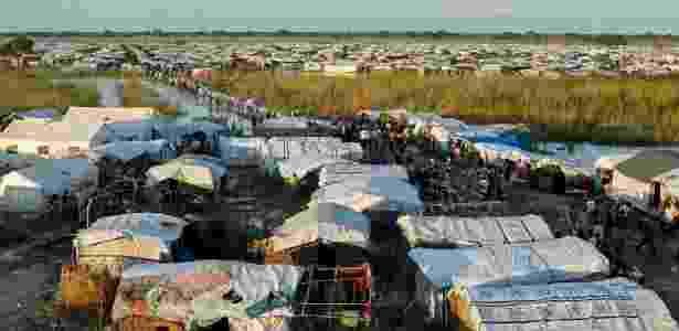 Campo de Bentiu, no Sudão do Sul - JC McIlwaine/ONU - JC McIlwaine/ONU