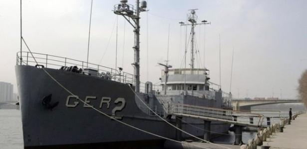 O navio levava 84 marinheiros quando foi capturado em 1968