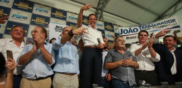 Doria é inscrito nas prévias do PSDB para disputar governo de SP