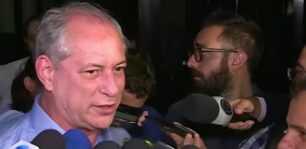 Ciro Gomes (PDT) se pronuncia após não ir ao segundo turno da eleição presidencial