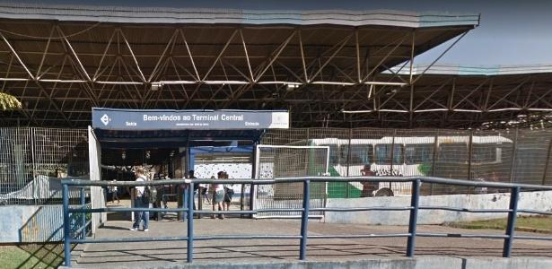 Entrada do Terminal Central de Campinas