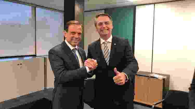 Dirigente do PSDB diz que Doria não se associou à imagem do presidente - Divulgação/Assessoria João Doria