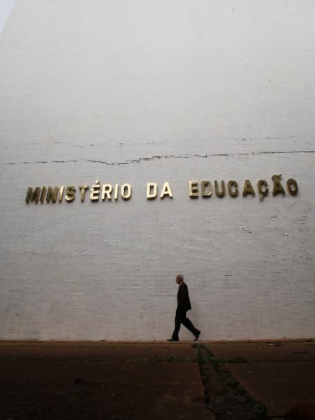 8.abr.2019 - Prédio do Ministério da Educação, em Brasília - Dida Sampaio/Estadão Conteúdo