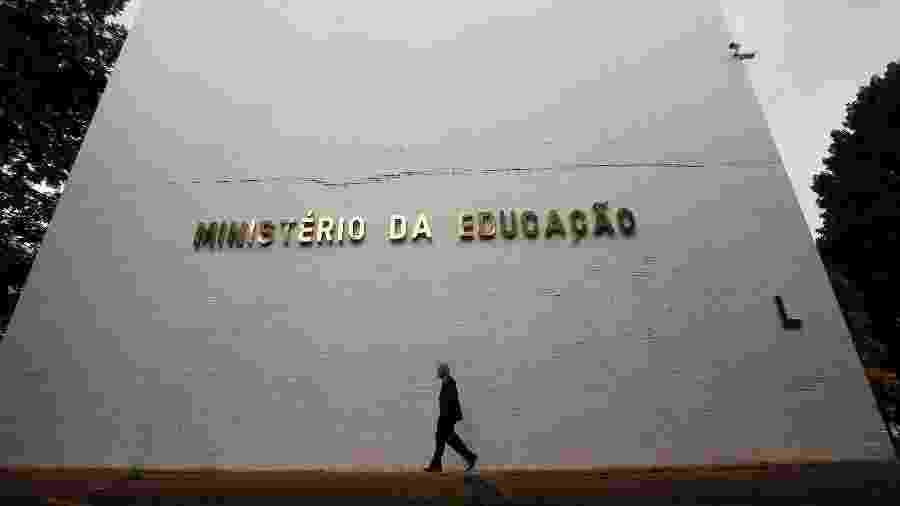 8.abr.2019 - Prédio do ministério da Educação, MEC - Dida Sampaio/Estadão Conteúdo