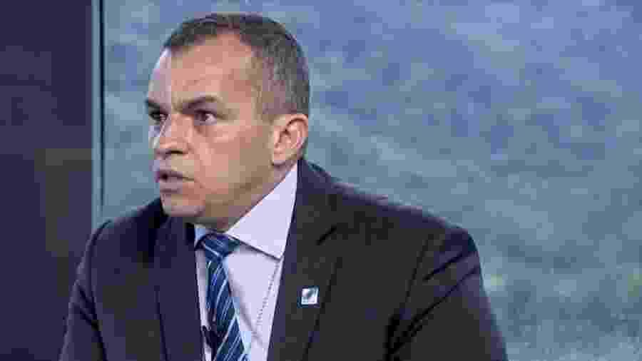 O secretário da Polícia Civil do Rio, delegado Marcus Vinícius Braga - Reprodução/TV Globo