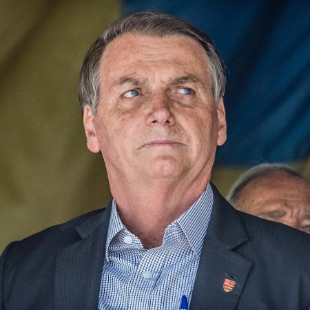 23.nov.2019 - O presidente da República, Jair Bolsonaro - Maga Jr./O Fotográfico/Estadão Conteúdo