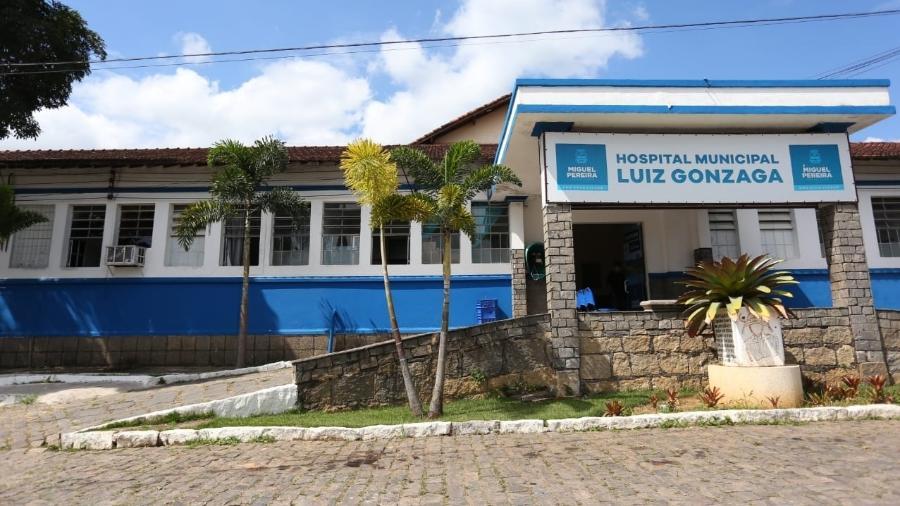 Hospital em Miguel Pereira onde morreu a primeira vítima do coronavírus no RJ - Divulgação/Prefeitura de Miguel Pereira