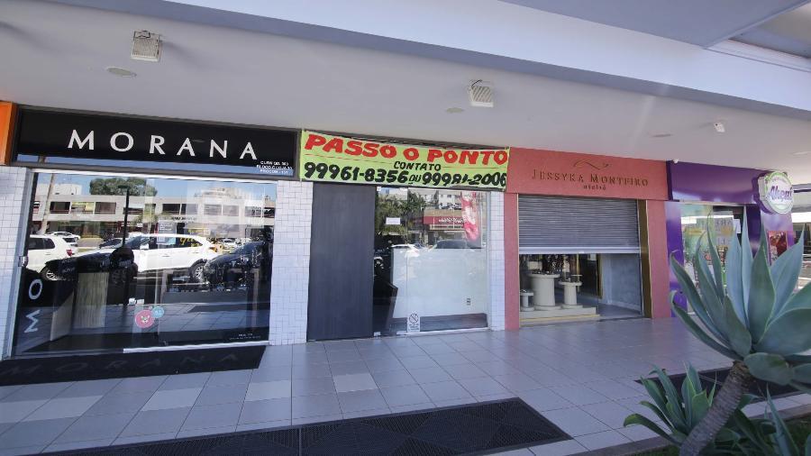 11.mai.2020 - Movimentação no comércio em Brasília (DF) durante pandemia do coronavírus - Wallace Martins / Estadão Conteúdo