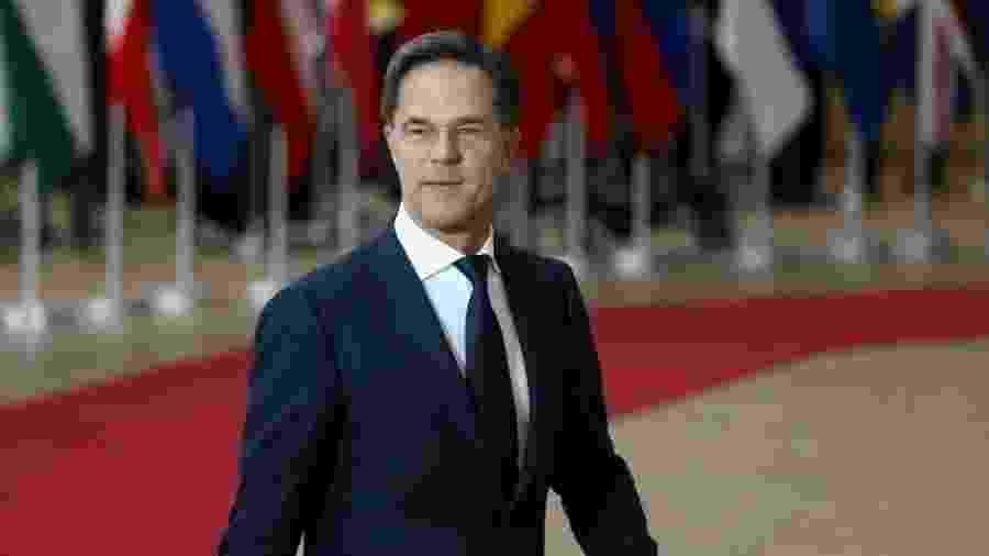 12.dez.2019 - Primeiro-ministro da Holanda, Mark Rutte - Jean Catuffe / Getty Images
