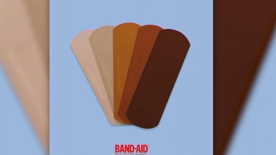 """Novas cores anunciadas pela marca de curativos para """"abraçar a diversidade"""" - Divulgação/Instagram"""