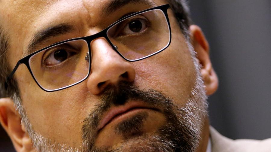 Ex-ministro da Educação Abraham Weintraub - ADRIANO MACHADO