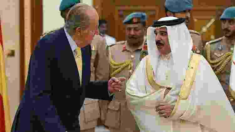 O rei mérito tem boas relações com monarcas da Arábia Saudita e do Bahrein - Getty Images - Getty Images