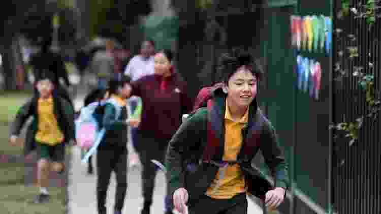 Estudo com escolas australianas sugeriu baixo risco de contágio - Reuters - Reuters