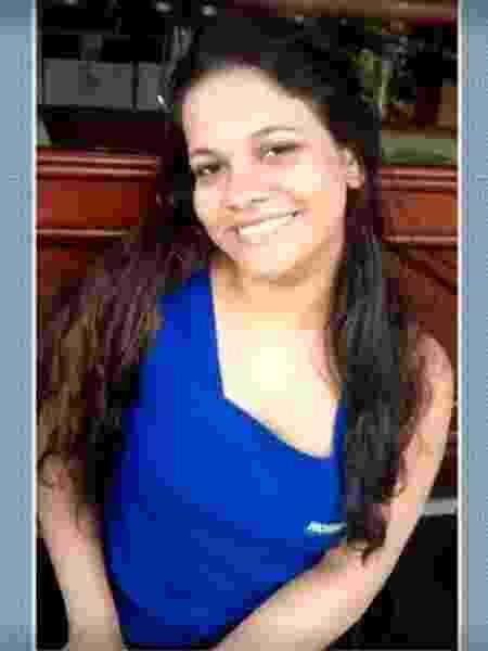 Ana Cristina da Silva morreu ao tentar proteger o filho em meio a um tiroteio no acesso ao São Carlos - Reprodução/TV Globo - Reprodução/TV Globo