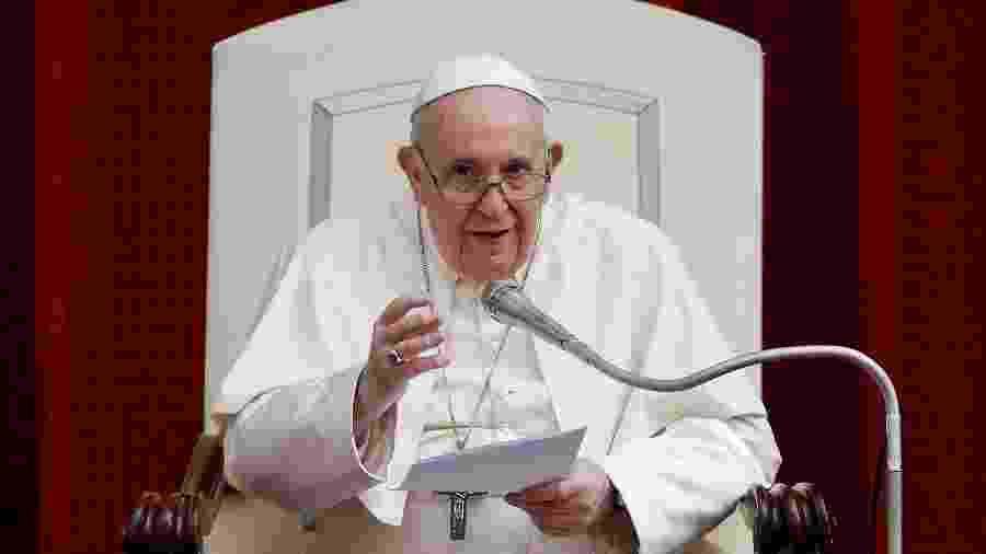Papa Francisco citou incêndios na Amazônia em discurso na ONU - GUGLIELMO MANGIAPANE