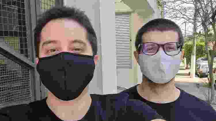 Foto com a selfie do Note 20 Ultra - Gabriel Francisco Ribeiro/UOL - Gabriel Francisco Ribeiro/UOL