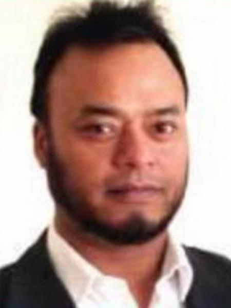 Nowan Miah foi atropelado quando tentava impedir roubo do carro dele durante uma entrega de refeição - Reprodução