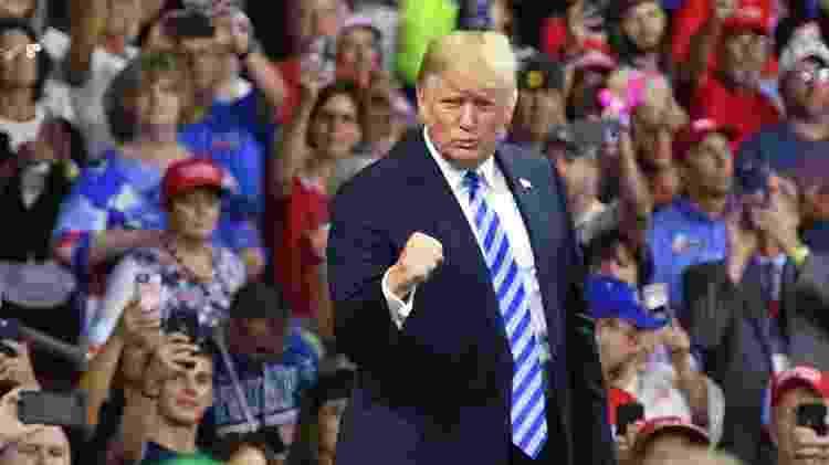 Retirada dos EUA do Acordo de Paris foi promessa de campanha de Trump, consolidada a um ano de sua tentativa de se reeleger - Mandel Ngan/AFP - Mandel Ngan/AFP