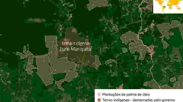 Mapa - Mongabay - Mongabay