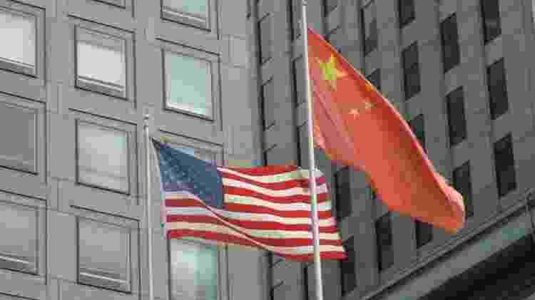 Tensão entre EUA e China pode dividir o mundo, diz relatório - Getty Images - Getty Images