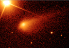 Cometa passará o mais próximo da Terra em 1º de abril - Alan Fitzsimmons / Liverpool Telescope