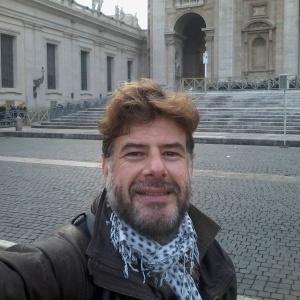 Luis Carlos Giampaoli posta foto na Itália