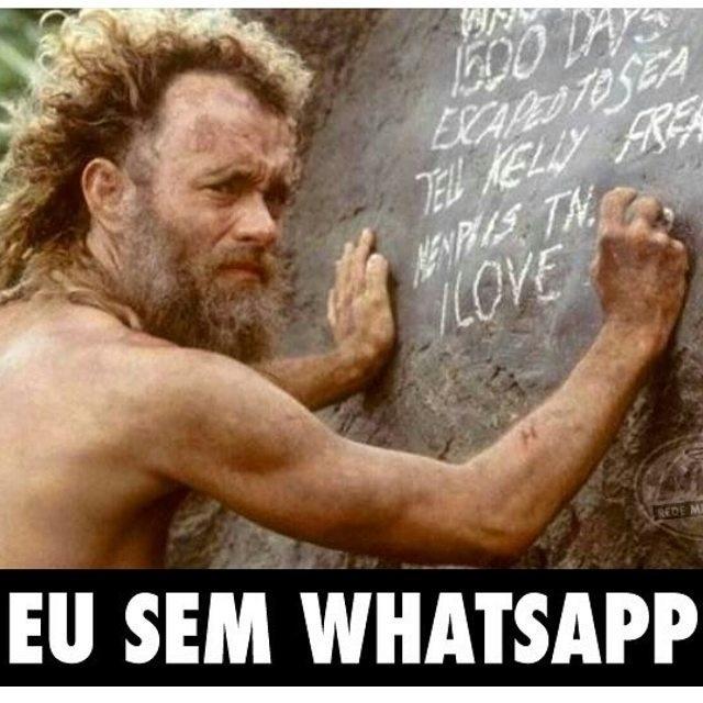 2.mai.2016 - Usuários de redes sociais criam memes após a Justiça de Sergipe mandar as operadoras de telefonia bloquearem os serviços do aplicativo WhatsApp por 72 horas