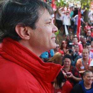 O prefeito de São Paulo e candidato do PT, Fernando Haddad