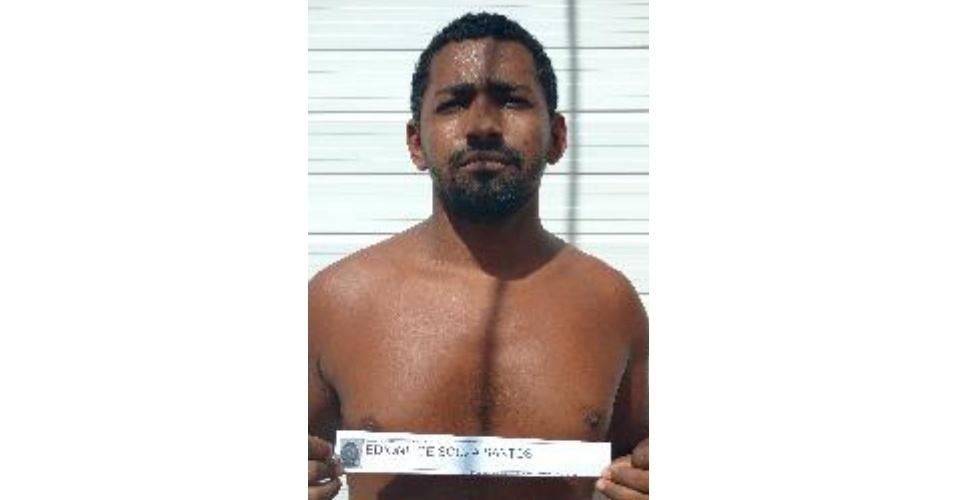 Edione de Souza Santos; crime: tráfico e estupro