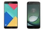 Moto Z Play x Galaxy A9: qual deles é o melhor celular intermediário? (Foto: Divulgação)