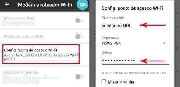 Android 2 - Como compartilhar sua internet do celular e transformar em Wi-Fi - UOL - UOL