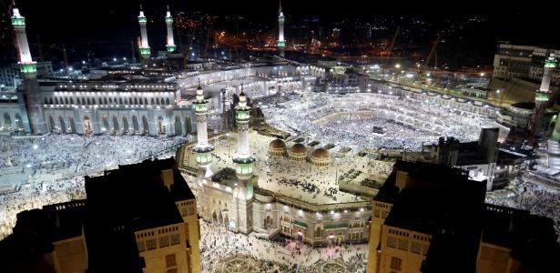 23.jun.2017 - Vista da Grande Mesquita em Meca, na Arábia Saudita