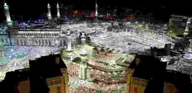 23.jun.2017 - Vista da Grande Mesquita em Meca, na Arábia Saudita - Ahmed Jadallah/Reuters