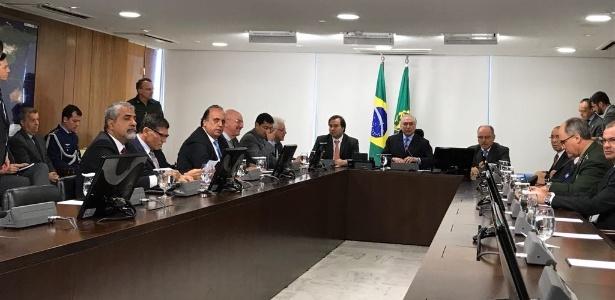Temer se reúne com o governador do Rio de Janeiro, Luiz Fernando Pezão (PMDB-RJ)
